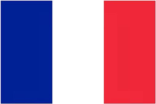 drapeau rouge et blanc europe